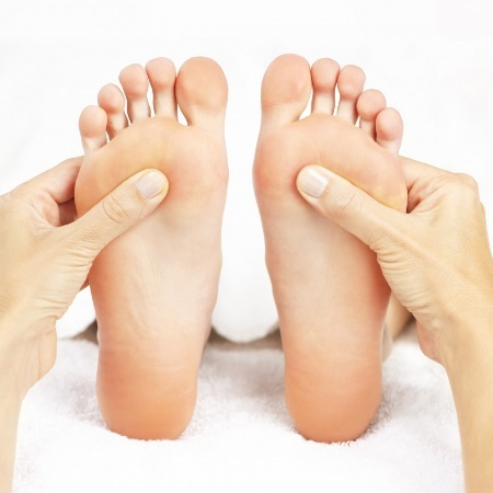 Acupressure Massage on feet