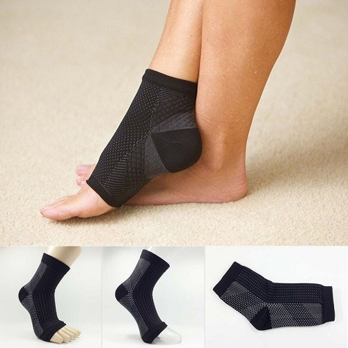 Wearing Ankle Compression Sleeves