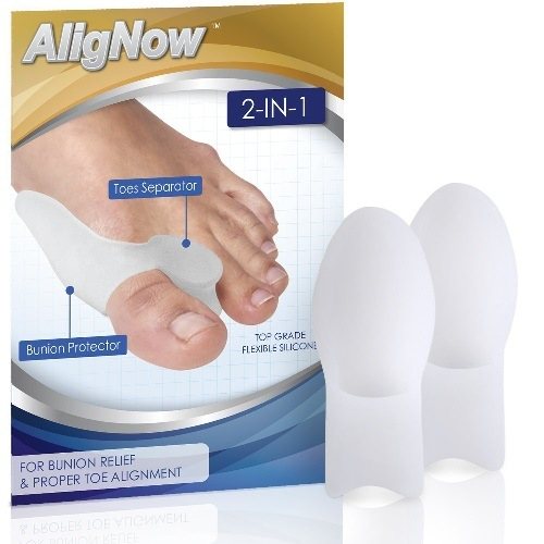 Bunion Relief Pack - 2 Bunion Pads Toe Spreaders Package