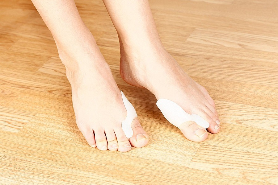 Bunion Relief Pack - 2 Bunion Pads Toe Spreaders