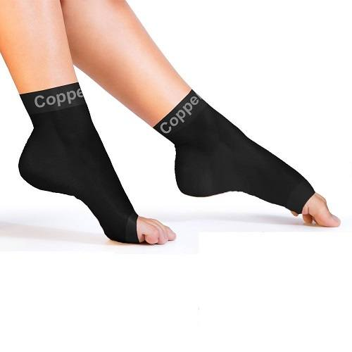 Copper Compression Recovery Foot Sleeves