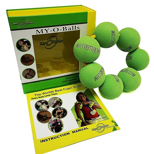 MyoBalls Foam Roller Balls Package