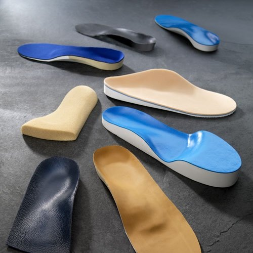 different orthotic insoles