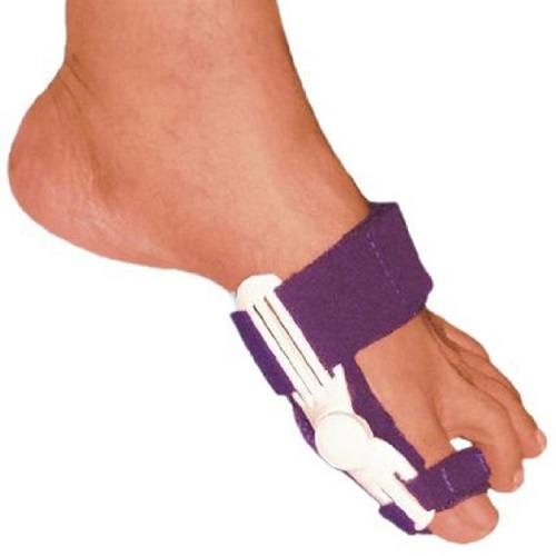 Wearing a Rigid Bunion Splint