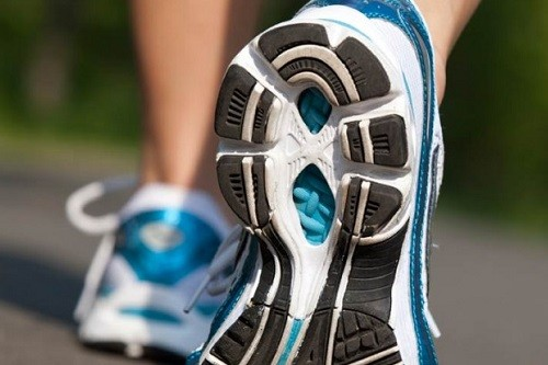 using orthotics in a running shoe